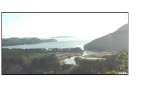 Image of San Juan Bay from Ferry Mountain, Vancouver Island, BC, Canada